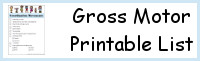 Gross Motor Printable List