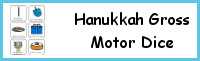 Hanukkah Gross Motor Dice