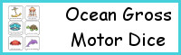 Ocean Gross Motor Dice