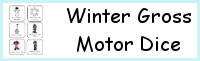 Winter Gross Motor Dice