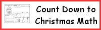Countdown to Christmas with Numbers & Math