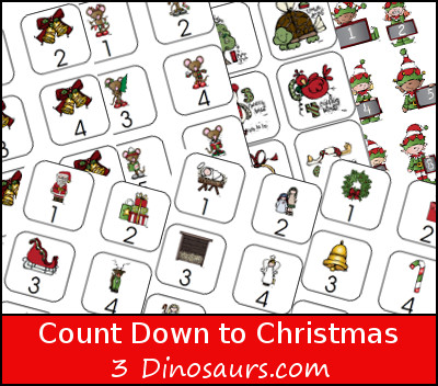 Count Down to Christmas with Books {Free Printable}