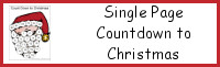 Single Page Countdown to Christmas