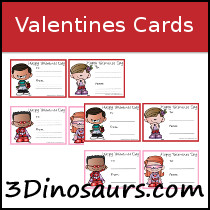 Valentines Cards Printable