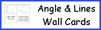 Angles & Lines Wall Cards