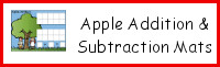Apple Addition & Subtraction Mats