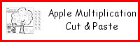 Apple Cut & Paste Multiplication