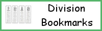 Division Bookmarks Printable - 3Dinosaurs.com
