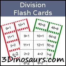 3 dinosaurs math division printables. Black Bedroom Furniture Sets. Home Design Ideas