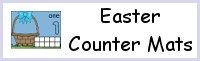 Easter Egg Counting Mats Number 1 to 10