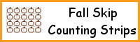 Fall Skip Counting Strips