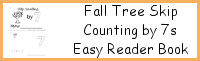 Fall Tree Skip Counting by 7 Easy Reader Book