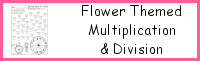 Flower Themed Multiplication & Division