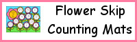 Flower Skip Counting Mats
