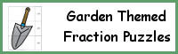 Garden Themed Fraction Puzzles