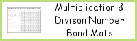 Multiplication & Division Number Bond Mat