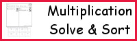 Multiplication: Solve & Sort