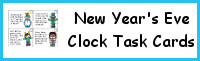 New Years Eve Clocks Printable