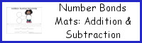 Math Number Bond Mats: Addition & Subtraction