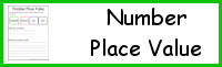 1,000 Number Place Value Printable