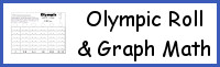 Olympic Roll & Graph Math Printable