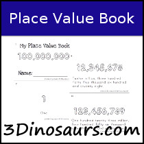 My Place Value Book Printable