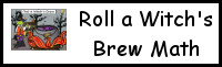 Roll a Witch's Brew Math Printable