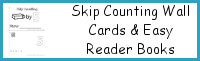 Skip Counting Books & Wall Cards Printable Selling Set