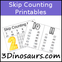 Skip Counting Printables