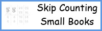 Skip Counting Small Books Printable - 3Dinosaurs.com