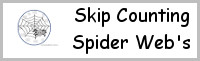 Skip Counting Spider Web's