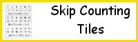 Skip Counting Tiles Printable- 3Dinosaurs.com