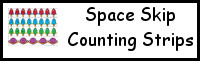 Space Skip Counting Strips