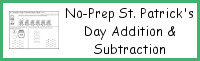 No-Prep St. Patrick's Day Themed Multiplication & Division
