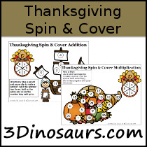 Thanksgiving Spin & Cover Math