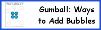 Gumball: Ways to Add Bubbles