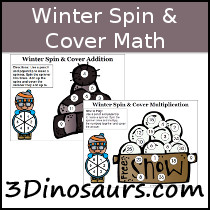 Winter Spin & Cover Math