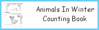 Animals In Winter Number Counting Book