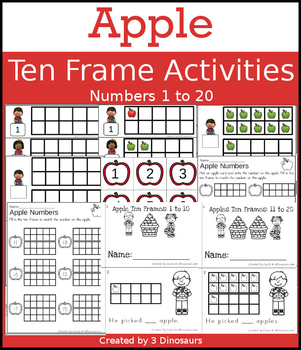 Ten Frames To 20 All The Best Frames In 2017 – Tens Frames Worksheets
