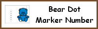 Bear Number Dot Marker & Counting