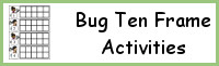 Bug Ten Frames Activities (1-20)