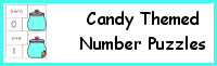 Candy Number Matching Puzzles