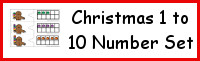 Christmas Number Set 1 to 10
