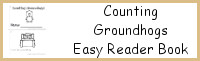 Counting Groundhogs Easy Reader Book