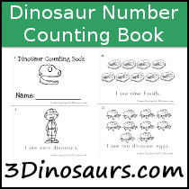 Dinosaur Counting Book