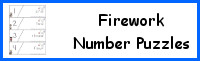 Fireworks Number Puzzles