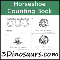Horseshoe Counting Book