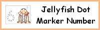 Jellyfish Number Dot Marker & Counting