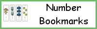 Number Bookmark Printables