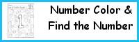 Number: Color the Number & Find the Number